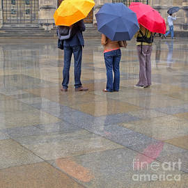 Rainy Day Tourists by Ann Horn