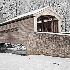 Michael Porchik - Rapps Bridge in Winter