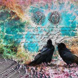 Raven Whispers In The Nowhere by Lisa Redfern