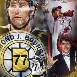 Ray Bourque by Mike Oulton