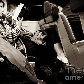 Absorbed - On the Train by Miriam Danar