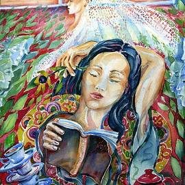 Trudi Doyle - Reading The Prophet by Kahil Gibran