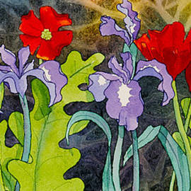 Red and Purple by Teresa Ascone