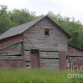 Red barn by Dwight Cook