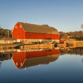 Randy Scherkenbach - Red Barn Reflection
