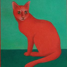 Red Cat by Pamela Clements