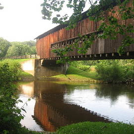 Cathy Pierce Payne - Red Covered Bridge