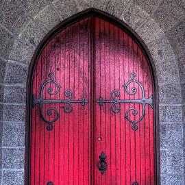 Red Door by Alana Ranney