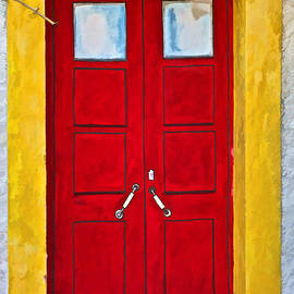 Red Door Number Six by David Letts