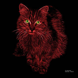 James Ahn - Red Feral Cat - 9905 F