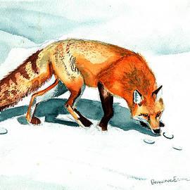 Red Fox by Genevieve Esson