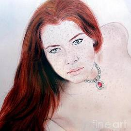 Jim Fitzpatrick - Red Hair and Freckled Beauty Remake Nude
