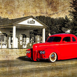 Thomas Woolworth - Red Hot Rod Cruising Route 66