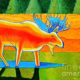 Red Moose by Joseph J Stevens