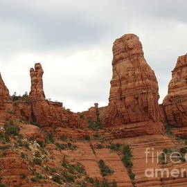 Red Rock Country Sedona Az by Beverly Guilliams