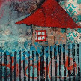Red Roof House by Laura  Lein-Svencner