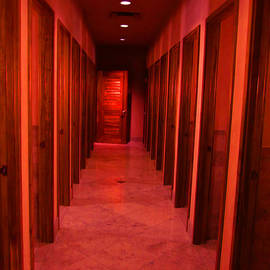 Red Rooms by Kym Backland