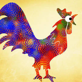 Christina Rollo - Red Rooster Art