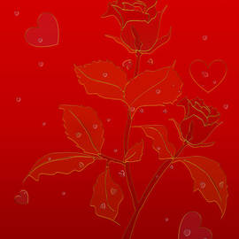 Red Roses II by Anna Elia