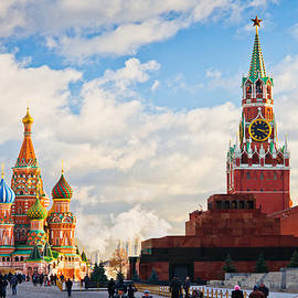 Red Square of Moscow - Featured 3 by Alexander Senin
