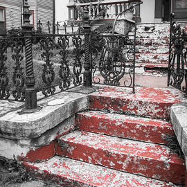 Red Steps by Ross Henton