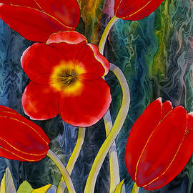 Red Tulips by Teresa Ascone