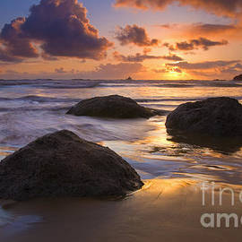 Reflected in the Sand by Mike  Dawson