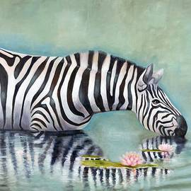 Michal Shimoni - Zebra Reflection