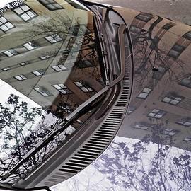 Sarah Loft - Reflection on a Parked Car