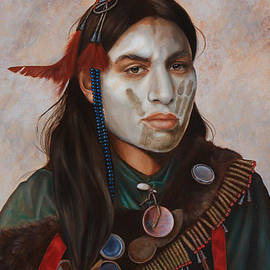 Reflections_ American Indian by K Henderson  by K Henderson