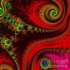 Renaissance - Fractal by Mary Machare