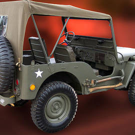 Restored Jeep by Thomas Woolworth