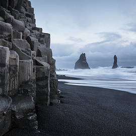Reynisdrangar Rock Sea Stacks by Ed Norton