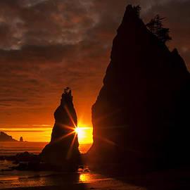 Rialto Beach Sunset Percusion by Mark Kiver
