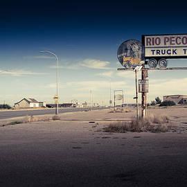 Rio Pecos Truck Terminal by Ellen and Udo Klinkel