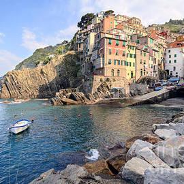 Riomaggiore Cinque Terre - Italy by Matteo Colombo