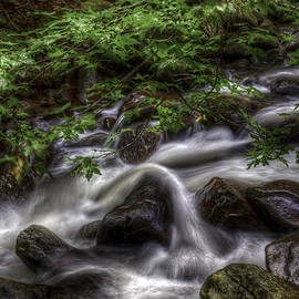 River On the Rocks II by Harry B Brown