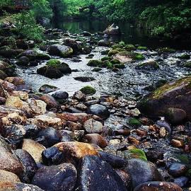 Marcus Dagan - River Rocks In Wicklow, Ireland