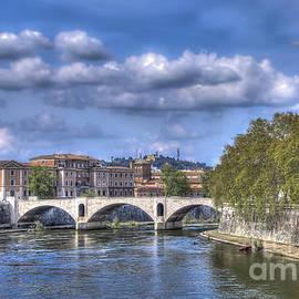 River Tiber by Viv Thompson