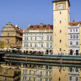 Brenda Kean - River Vltava Reflections