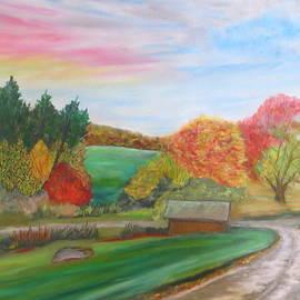 Daniel Dubinsky - Road to Autumns Harvest- Glynnwood farms
