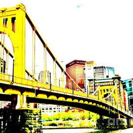 Roberto Clemente Bridge by Jay Nodianos