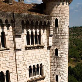 Weston Westmoreland - Rocamadour Stone Tower Vertical Panorama