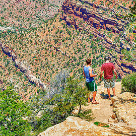 Bob and Nadine Johnston - Rock Climbing and Hiking the Grand Canyon
