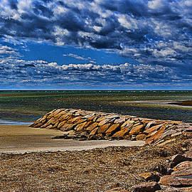 Rock Harbor Jetty by Bill Barber