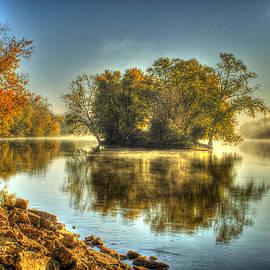 Roger Passman - Rock River Fall Morning