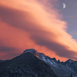 Aaron Spong - Rocky Mountain National Park Sunset Over Longs