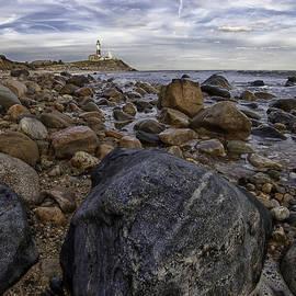 Rocky Shore by Sara Hudock