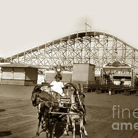 California Views Mr Pat Hathaway Archives - Roller Coaster Santa Cruz California circa 1912