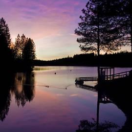 Lori Schneider - Rollins Lake Sunset